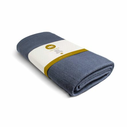 Lotuscrafts Yoga Blanket Savasana [200 x 150 cm] – Meditation Blanket – Robust & Durable – Made of 100% Organic Cotton